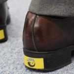 この靴ステッカーをご存知ですか?コレでどれだけの命が救えるのだろう…