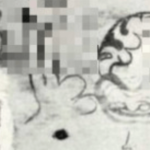法隆寺で発見された落書き…今も昔も落書きのクオリティは変わっていなかった…