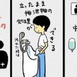 多目的トイレのアレの使い方…オストメイトマークの解説アニメが超分かりやすいと話題に…