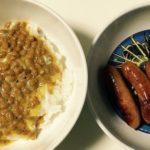 納豆とウィンナーを一緒に食べたら・・・想像もしないことが起きた・・・