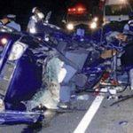 19歳5人が交通事故死!車が大破する前に撮った自撮りがヤバイ…
