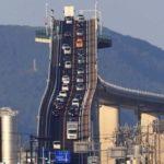 鳥取県に実在するトリックアートのような橋…思わず合成だと思ってしまう…