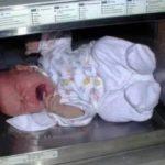 赤ちゃんを電子レンジでチンしたバカ親…衝撃の写真に批判殺到
